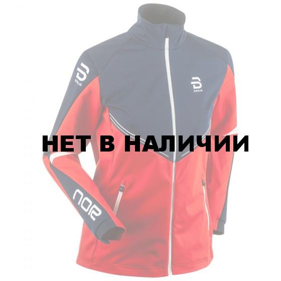 Куртка беговая Bjorn Daehlie 2016-17 Jacket NATIONS 2.0 Wmn Red