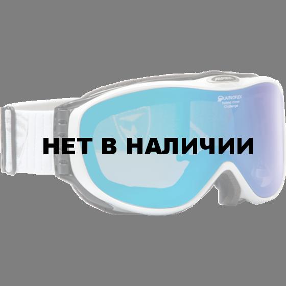 Очки горнолыжные Alpina CHALLENGE S 2.0 QM white/grey (Diamond new)