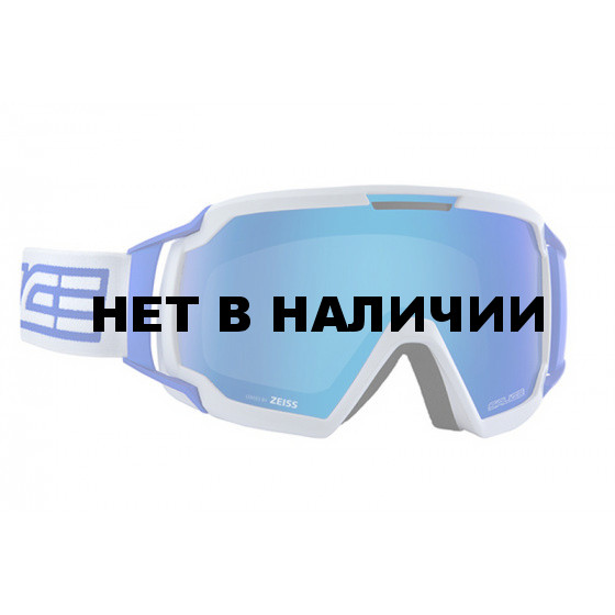 Очки горнолыжные Salice 618DARWF WHITE-BLUE/RW CLEAR (б/р:ONE SIZE)