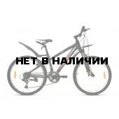 Велосипед Welt Peak 24 2017 matt black/red
