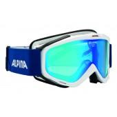 Очки горнолыжные Alpina SPICE MM white_MM blue S2
