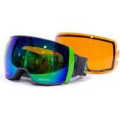 Очки горнолыжные Salice 605DARWF w. Coffre & Spare Lens FUCHSIA/RW BLUE + SONAR (б/р:ONE SIZE)