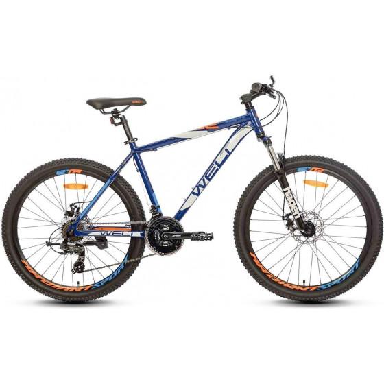 Велосипед Welt 2018 Ridge 1.0 D matt darkblue/orange