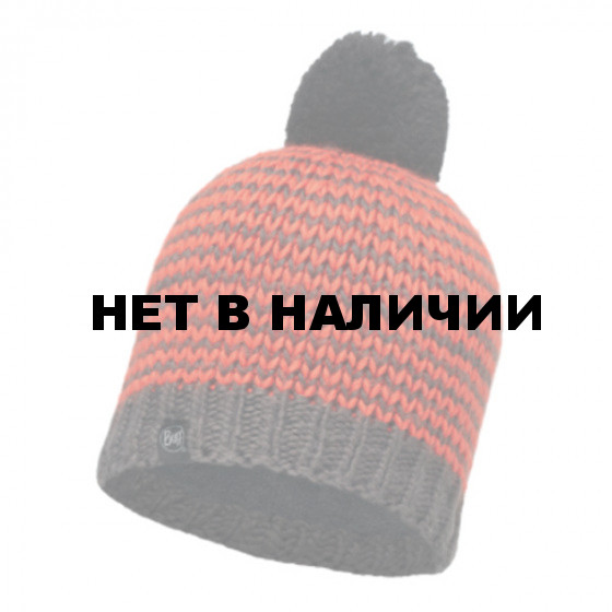 Шапка BUFF KNITTED & POLAR HAT DORN FLAME (US:one size)