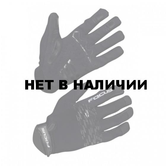 Перчатки велосипедные FOCUS AM GLOVES black/black