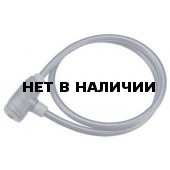 Замок велосипедный BBB PowerSafe straight cable 8mm x 1000mm (BBL-32)
