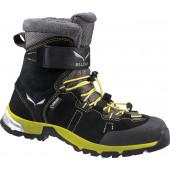 Ботинки городские (высокие) Salewa 2017-18 JR SNOWCAP GTX Black/Yellow