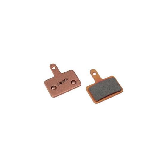 Тормозные колодки BBB DiscStop comp.w/Shimano Deore M575, M525, M486, M485 hydraulic, Tektro Draco, Auriga COMP, Giant MPH Root sintered (BBS-52S)
