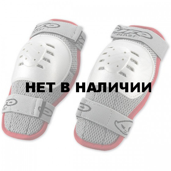 Защита колена NIDECKER 2016-17 short knee guards Kids white/red