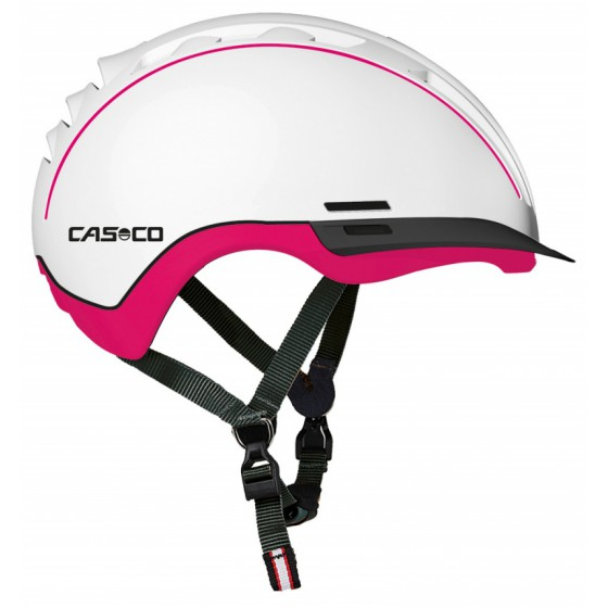 Летний шлем Casco 2016 YOUTH & KIDS Young-Generation white-pink