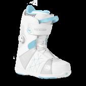 Ботинки для сноуборда NIDECKER 2017-18 TRANSIT W BOA WHITE (см:25)