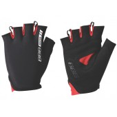 Перчатки велосипедные BBB Racer черный/красный (BBW-44)
