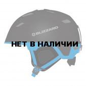 Зимний Шлем Blizzard 2016-17 Double black matt/progress blue