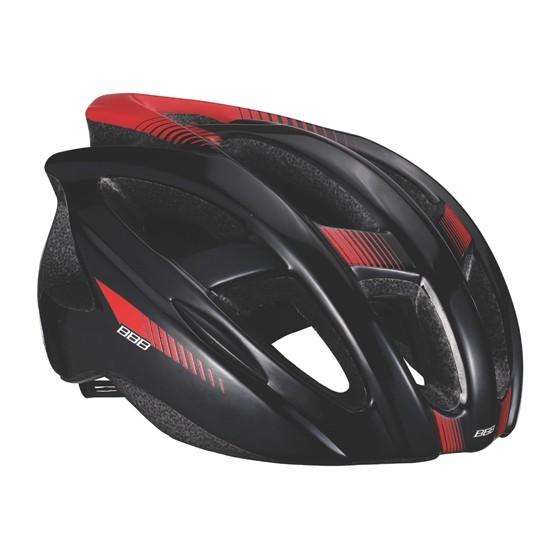Летний шлем BBB 2015 helmet Hawk black red (BHE-27)