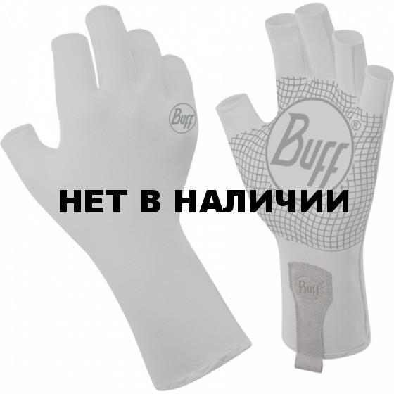 Перчатки рыболовные BUFF Watter Gloves BUFF WATER GLOVES BUFF LIGHT GREY M/L