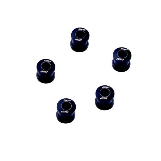 Бонки BBB HexStars alum. black (BCR-51)