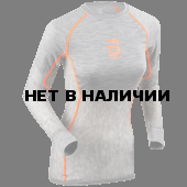 Футболка с длинным рукавомом Bjorn Daehlie 2017-18 Shirt Airnet Wmn Shocking Orange (US:S)