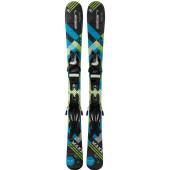 Горные лыжи с креплениями Elan 2018-19 MAXX BLK/BLUE QS EL 7.5 (130-150)