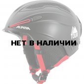Зимний Шлем Alpina SNOW TOUR incl. Earpad black-red matt