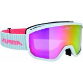 Очки горнолыжные Alpina SCARABEO S MM white MM pink S2 / MM pink S2 (S40)
