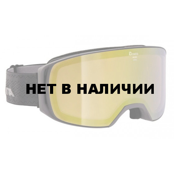 Очки горнолыжные Alpina TURBO HM black HM blue S2 / HM blue S2
