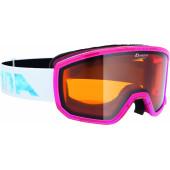Очки горнолыжные Alpina SCARABEO S DH pink transluzent DH S2 / DH S2 (S40)