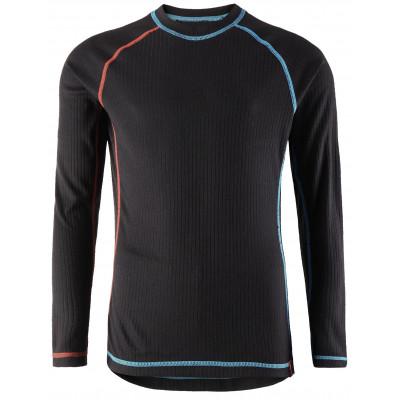 Комплект (футболка, длинный рукав, + брюки) Reima 2018-19 Cepheus BLACK