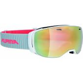 Очки горнолыжные Alpina ESTETICA MM sph. white MM pink sph. S2 / MM pink sph. S2 (M30)