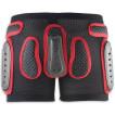 Защитные шорты NIDECKER 2018-19 padded plastic shorts black/red / 25,00