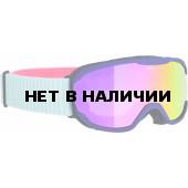 Очки горнолыжные Alpina PHEOS JR. MM purple MM pink S2 / MM pink S2 (7-14)