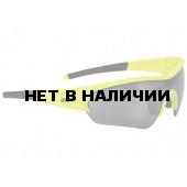 Очки солнцезащитные BBB Select neon yellow PC Smoke flash mirror lens черный