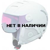 Зимний шлем с визором Alpina 2018-19 JUMP JV QVMM white matt