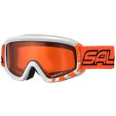 Очки горнолыжные Salice 708DAF WHITE ORANGE