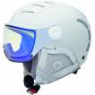 Зимний шлем с визором Alpina 2018-19 JUMP JV VHM white matt