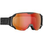 Очки горнолыжные Salice 619DARWF CHARCOAL-BLACK RW RED