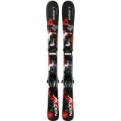 Горные лыжи с креплениями Elan 2018-19 MAXX BLK/RED QS EL 7.5 (130-150)