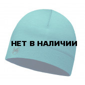 Шапка BUFF LIGHTWEIGHT MERINO WOOL HAT SOLID LAKE BLUE