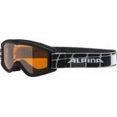 Очки горнолыжные Alpina 2018-19 CARVY 2.0 SH black SLT S2 / SLT S2 (2-5)