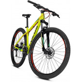 Велосипед Focus Whistler Evo 27 2018 limegreen