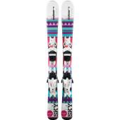 Горные лыжи с креплениями Elan 2018-19 SKY QS EL 4.5 (100-120)