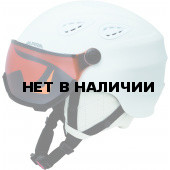 Зимний шлем с визором Alpina 2018-19 GRAP Visor HM white matt