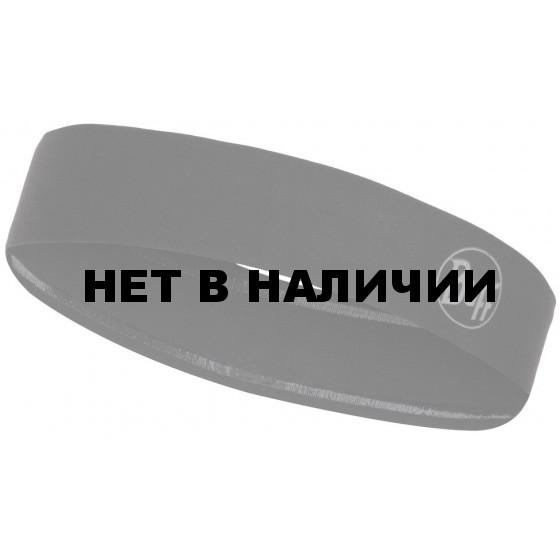 Повязка Buff WIDE HAIRBAND R-SOLID BLACK