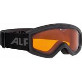 Очки горнолыжные Alpina CARAT DH black DH S2 / DH S2 (6-9 лет)