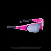 Очки солнцезащитные BBB 2018 Summit PC Smoke flash mirror lens розовый, черный (UNI)