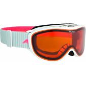 Очки горнолыжные Alpina CHALLENGE 2.0 DH white-flamingo DH S2 / DH S2 (M40)