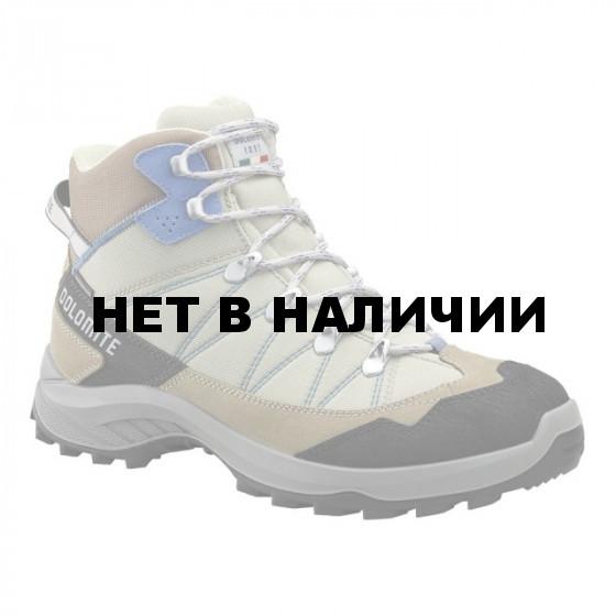 Ботинки для хайкинга (высокие) Dolomite 2018-19 Tovel Wp Wmn Desert Beige/Marina Blue