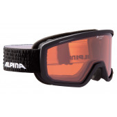 Очки горнолыжные Alpina SCARABEO QH black matt QH S2 / QH S2 (L50)
