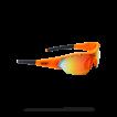 Очки солнцезащитные BBB 2018 Summit PC Smoke MLC orange lens оранжевый, черный (UNI)