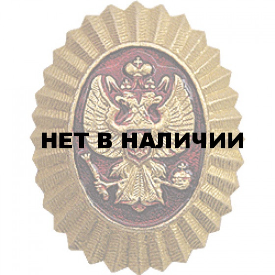 Кокарда Герб на пилотку металл