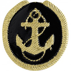 Кокарда Речной флот курсанты металл
